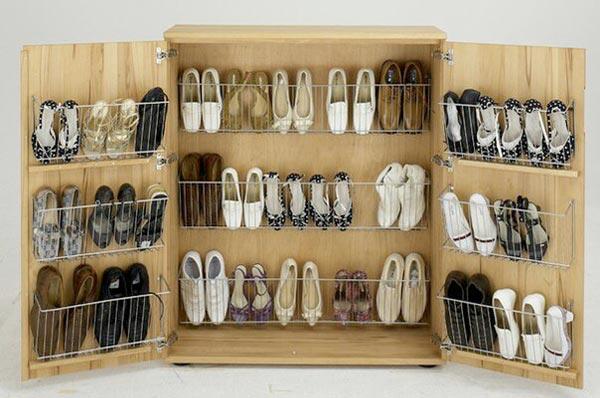 10 идей хранения обуви в межсезонье