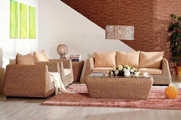 Мебель из ротанга: рекомендации по уходу