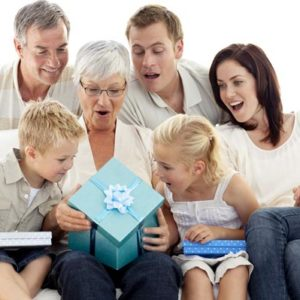 Необычные подарки для всей семьи