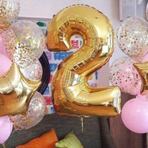 Фольгированные шары - оригинальный дизайн праздничной атрибутики