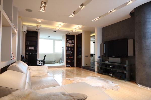 Актуальные тенденции в оформлении современных гостиных (фото)