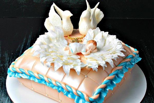 Выбираем торт на крестины ребенка