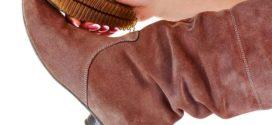 Как чистить и ухаживать за замшевой обувью