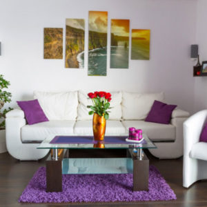 Картины как элемент декора в интерьере