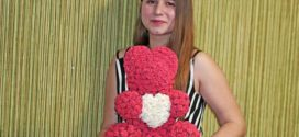 Мишки из 3d роз: новый тренд от флористов