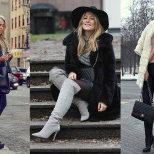 Как правильно подобрать зимнюю обувь на каблуке?