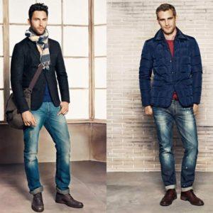 Как стилизовать мужские джинсы?