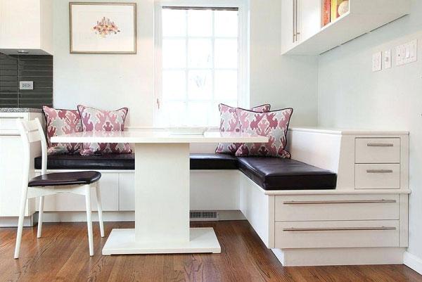 Кухонные уголки в современном интерьере
