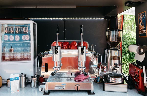 Кофемашина на колесах - бизнес, приносящий хороший доход