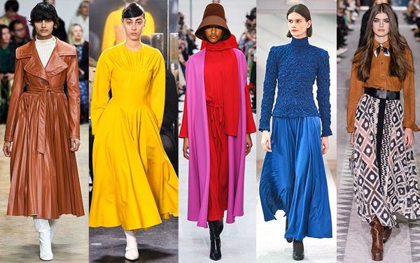 Модные тренды осень-зима 2019